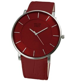 Davis Big Timer Watch Sts/Red/Red - 0912