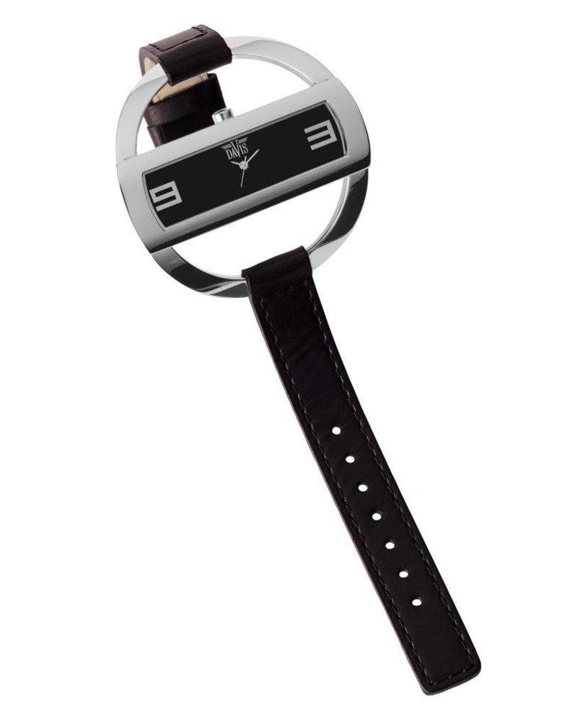 Davis Caroll Watch Sts/Black/Black - 1200