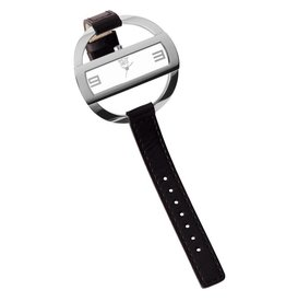 Davis Caroll Watch Sts/Black/White - 1203
