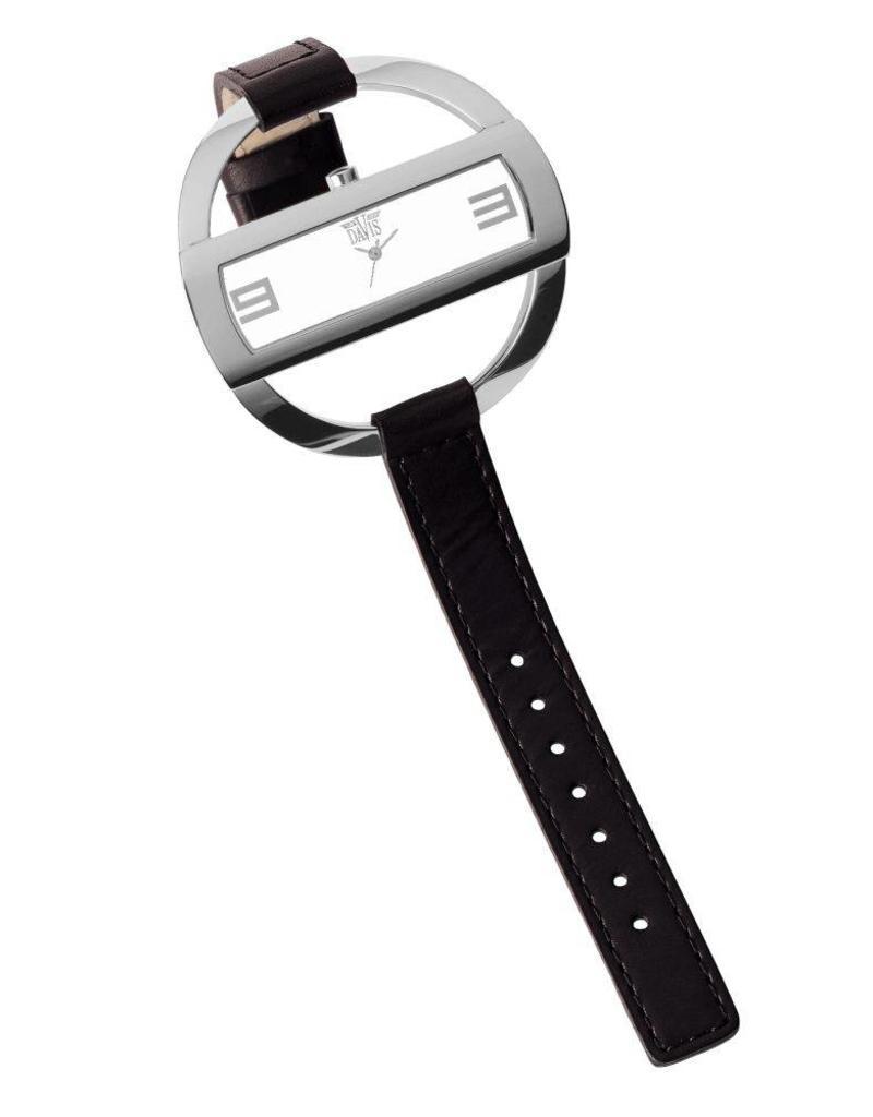 Davis Caroll Watch Sts/Black/White - 1203