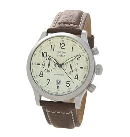 Davis Aviamatic Watch Brown White - 1023