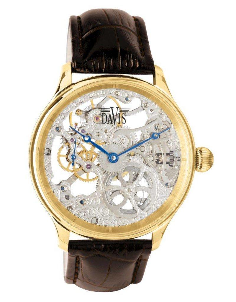 Davis Scelet Gold/Brown - 0896