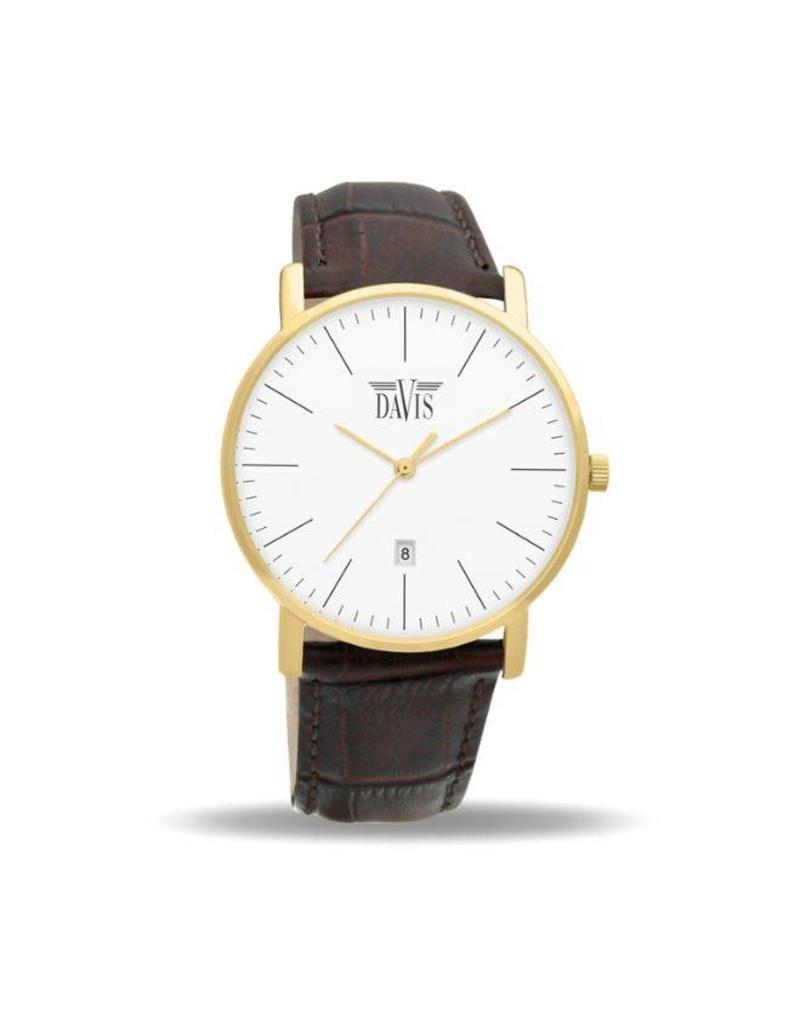 Davis James Watch Gold - 1994 Davis