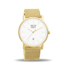 Davis Charles Watch Gold - 2044