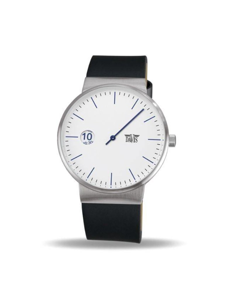 Davis Center Watch White - 2106