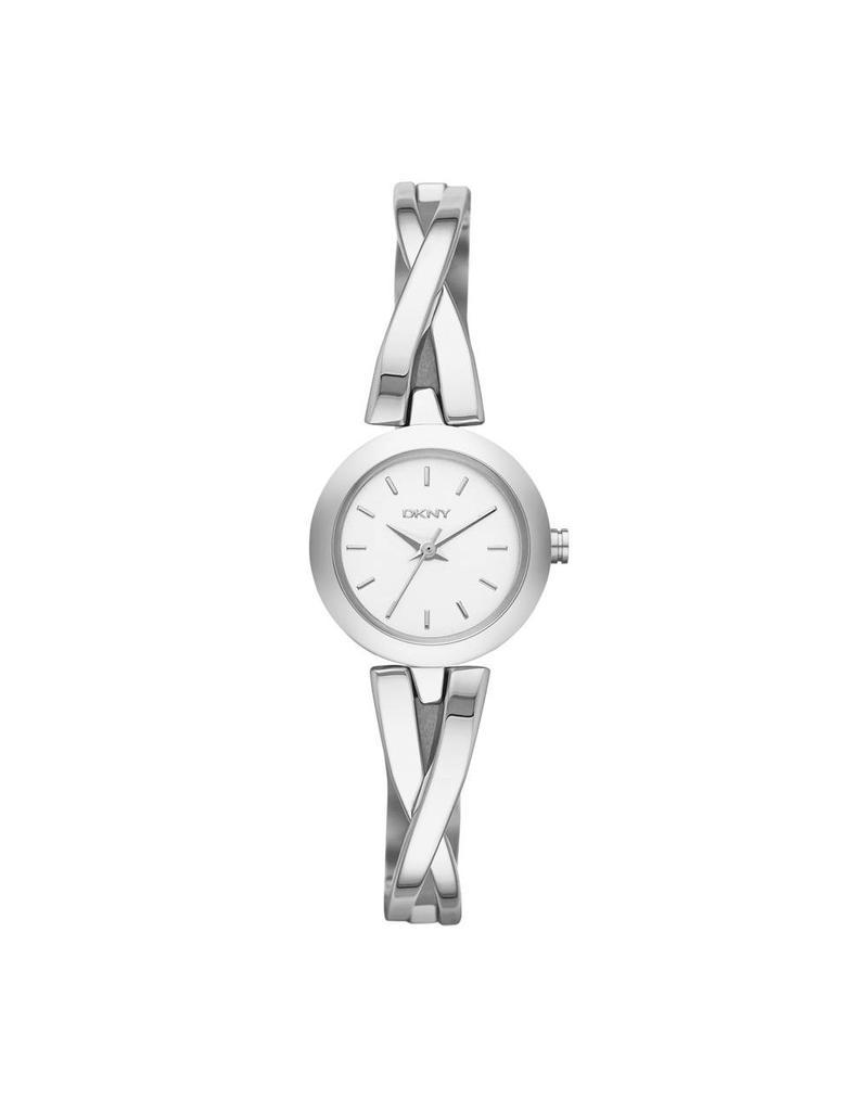 DKNY horloges Crwk Rnd Sil il B - NY2169