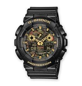 G-Shock Wrist Watch Anadigi - GA-100CF-1A9ER