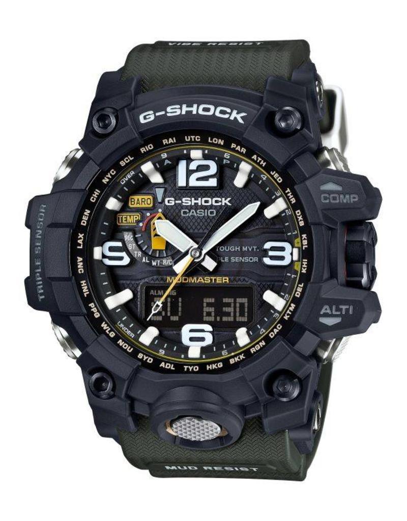 G-Shock Wrist Watch Anadigi Mudmaster - gwg-1000-1a3er