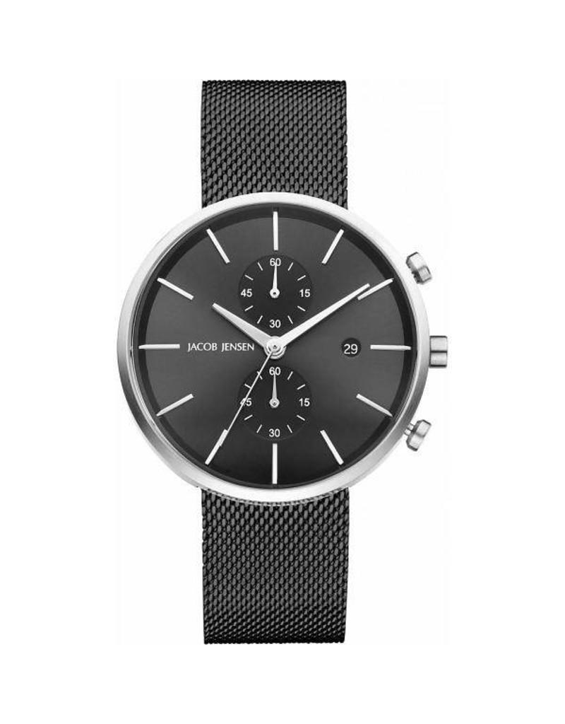 Jacob Jensen horloges Linear Sapphire Mesh Strap - 626