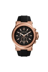 Michael Kors Horloges RD RG BLK STP - MK8184