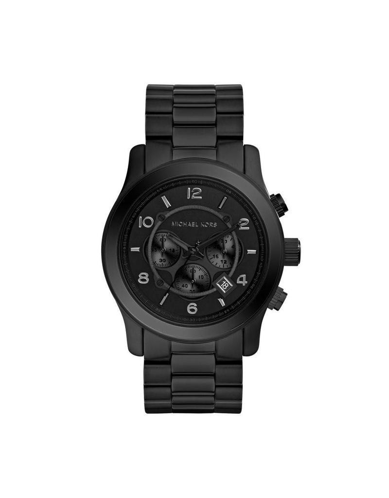 Michael Kors Horloges Rnd Blk Blk Brc No - MK8157