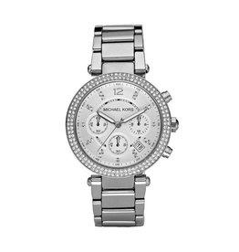 Michael Kors Horloges Michael Kors Parker Silver - MK5353