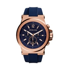 Michael Kors Horloges Rnd rse nvy str - mk8295***