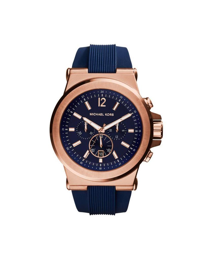 Michael Kors Horloges Rnd rse nvy str - mk8295