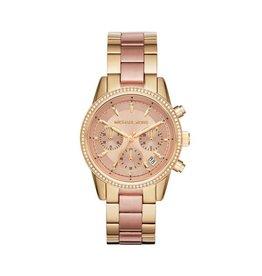 Michael Kors Horloges Round Gold Bracelet - MK6475***