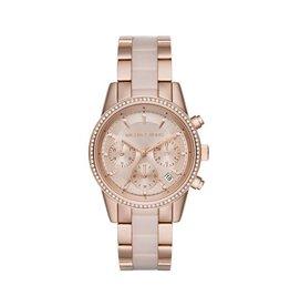 Michael Kors Horloges Ritz Rosé - MK6307***