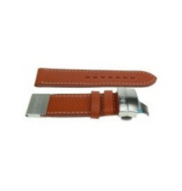 U-Boat 20mm Strap Solid 45mm Brown Leather - 2010