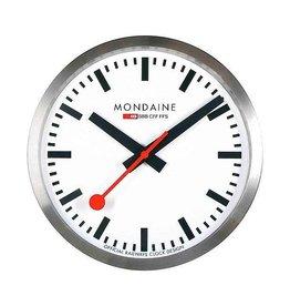 Mondaine Railways Wandklok 40cm Mat/Wit - M995.CLOCK.16SBB