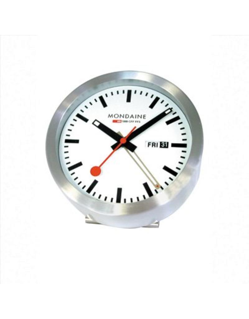 Mondaine Mini Klok 125mm Alarm - M997.MCAL.16SBB