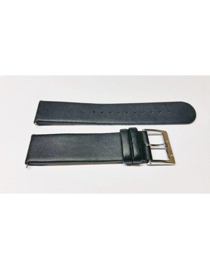 Ice Watch 20mm Zwart Leer Gesp Glans - BM20001