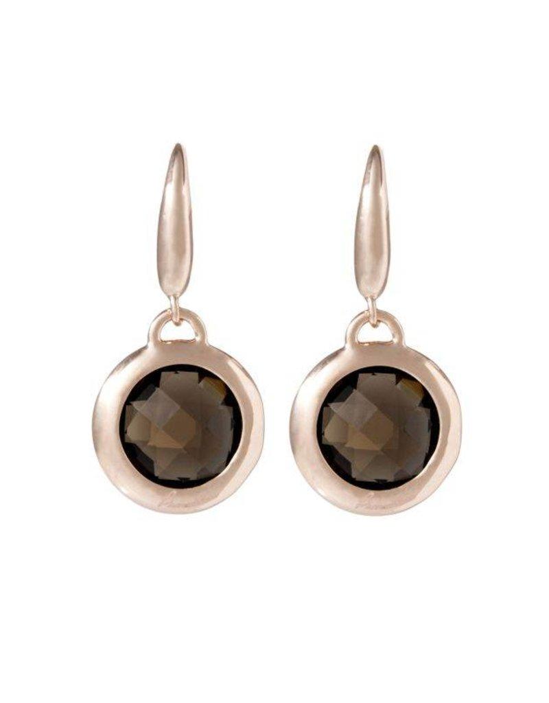 Bronzallure Faceted S. Dangle Earring - WSBZ00308.S