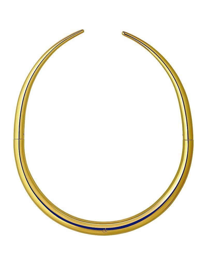 Calvin Klein sieraden Collier choker staal verguld - kj94jj100100