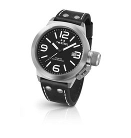 TW Steel 3-Hands Quartz Black Dial - CS2