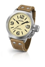 TW Steel 3-Hands Quartz Cream Dial - CS11