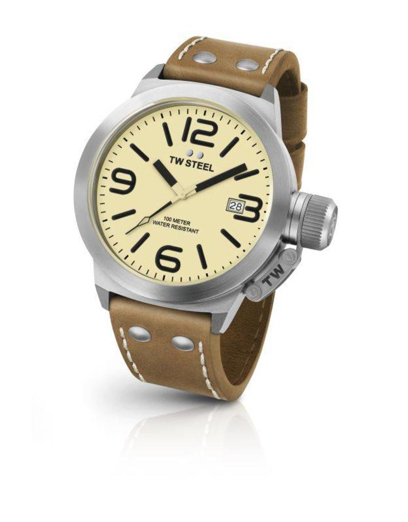 3-Hands Quartz Cream Dial - CS11