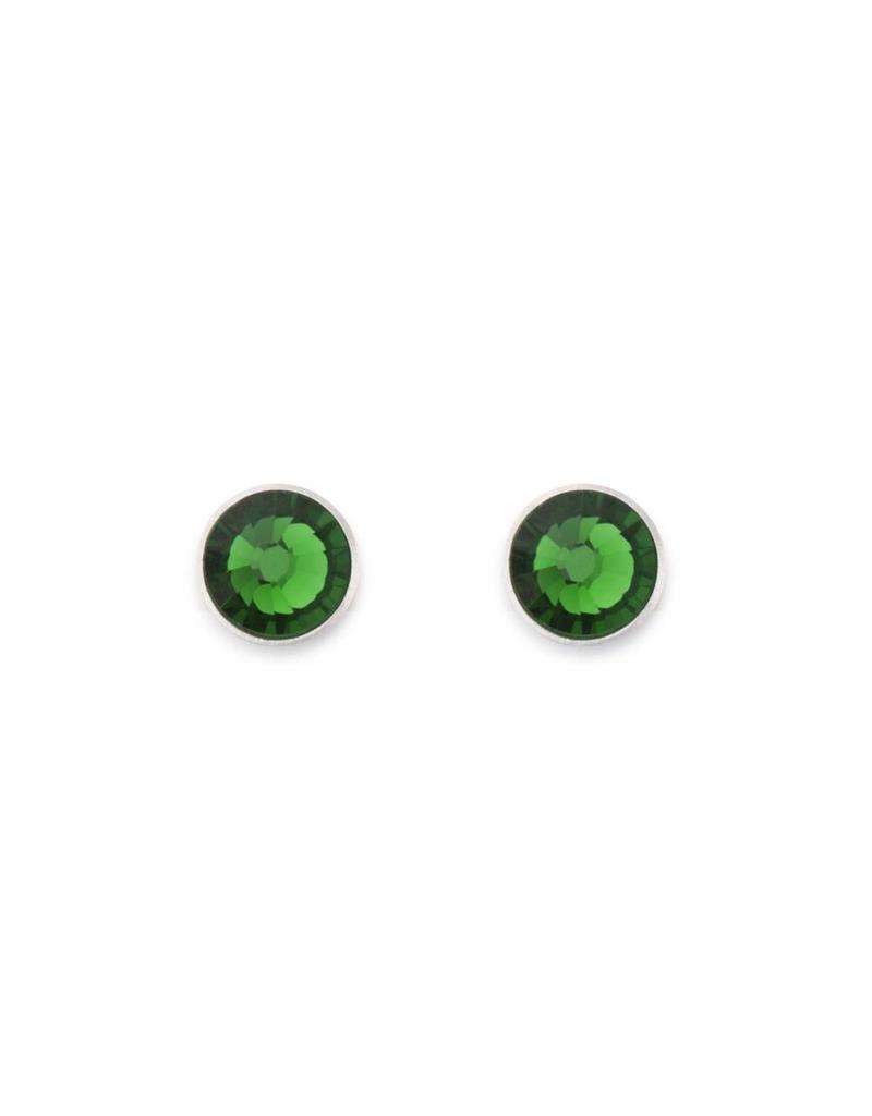 Coeur de Lion Earrings With Stickpin Green - 0042/21-0500