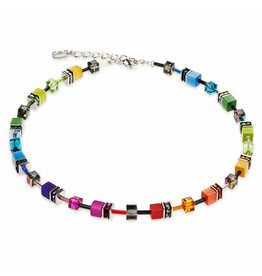Coeur de Lion Necklace Rainbow - 2838/10-1520