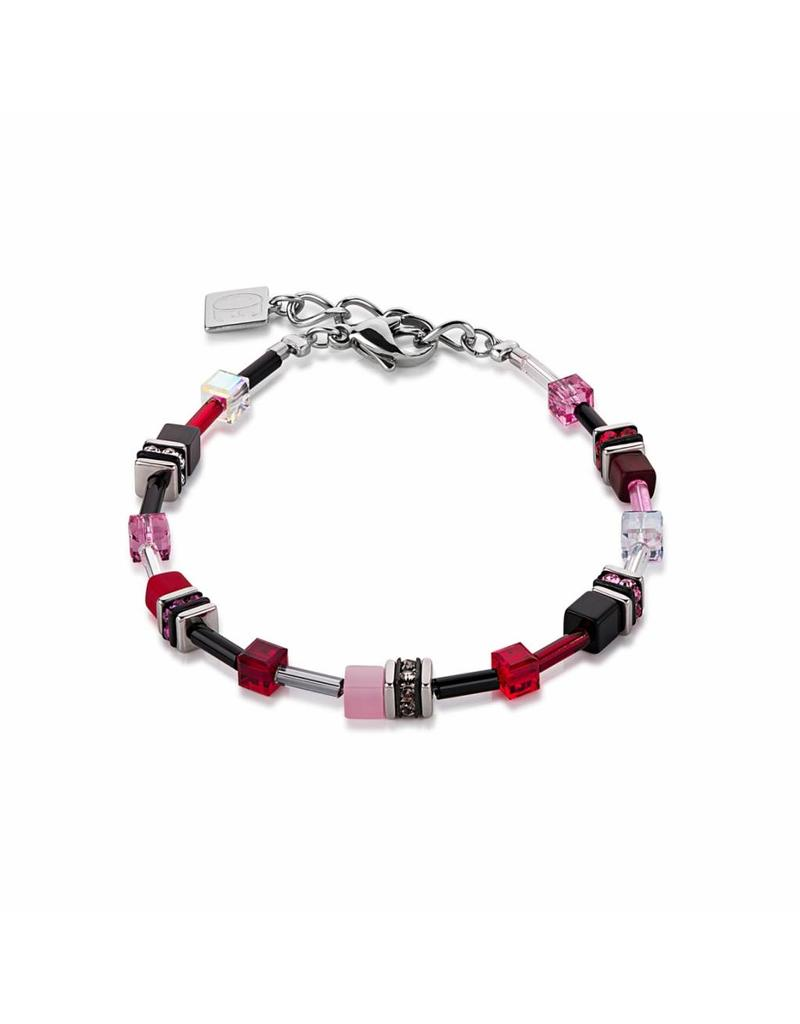 Coeur de Lion Bracelet Red-Rose - 4838/30-0319