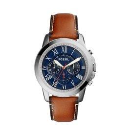 Fossil horloges Md Rd Ss Blue Stp - FS5210***