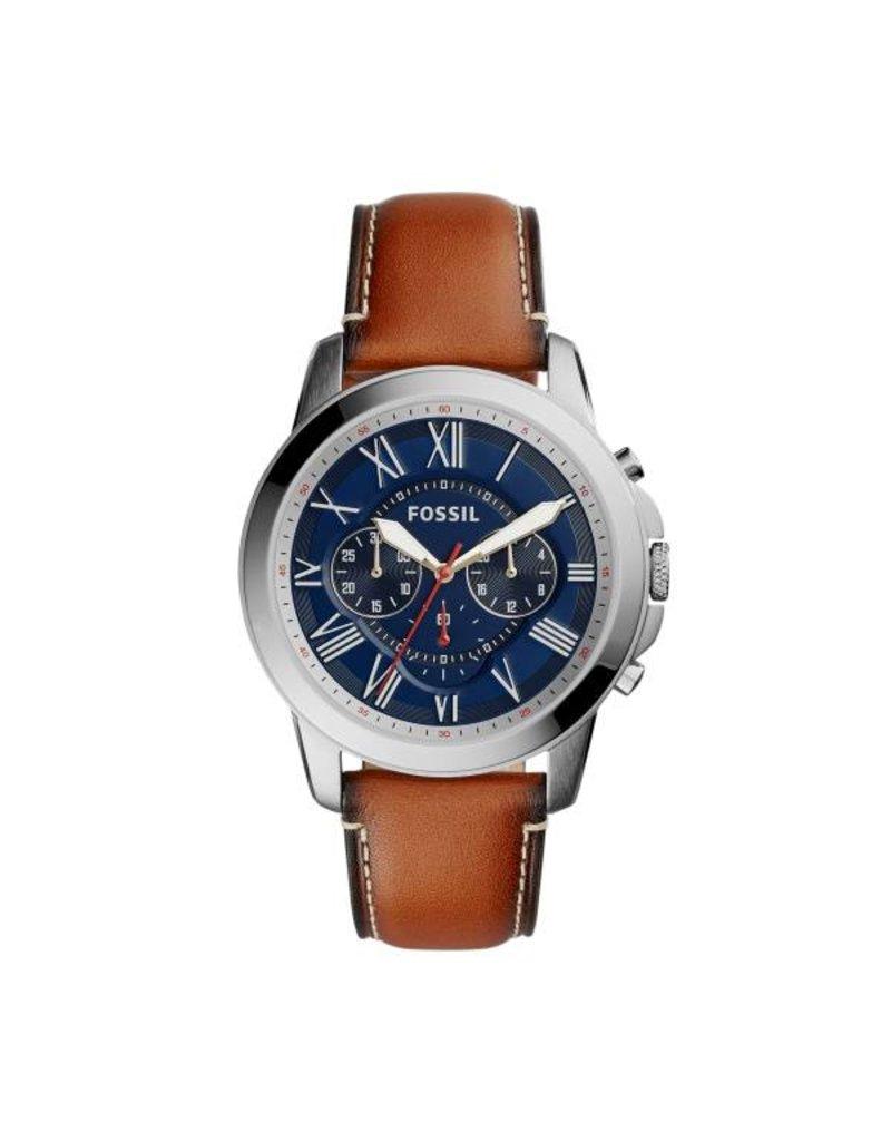 Fossil horloges Md Rd Ss Blue Stp - FS5210