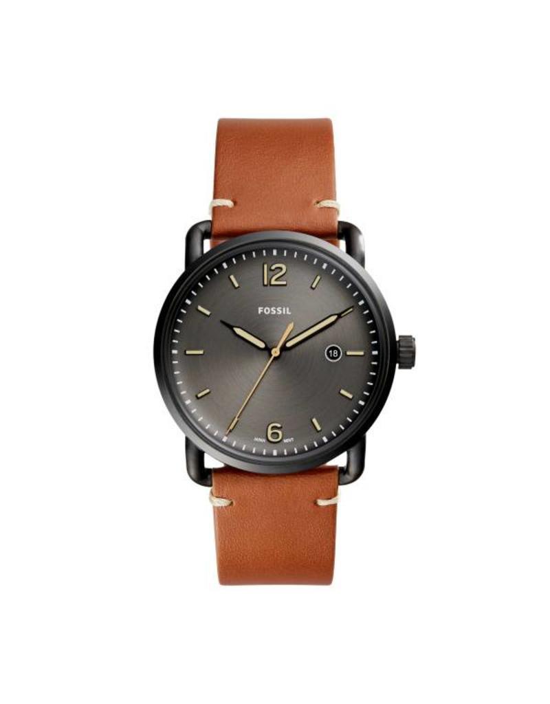 Fossil horloges Md Rd Blk Blk Strp - FS5276