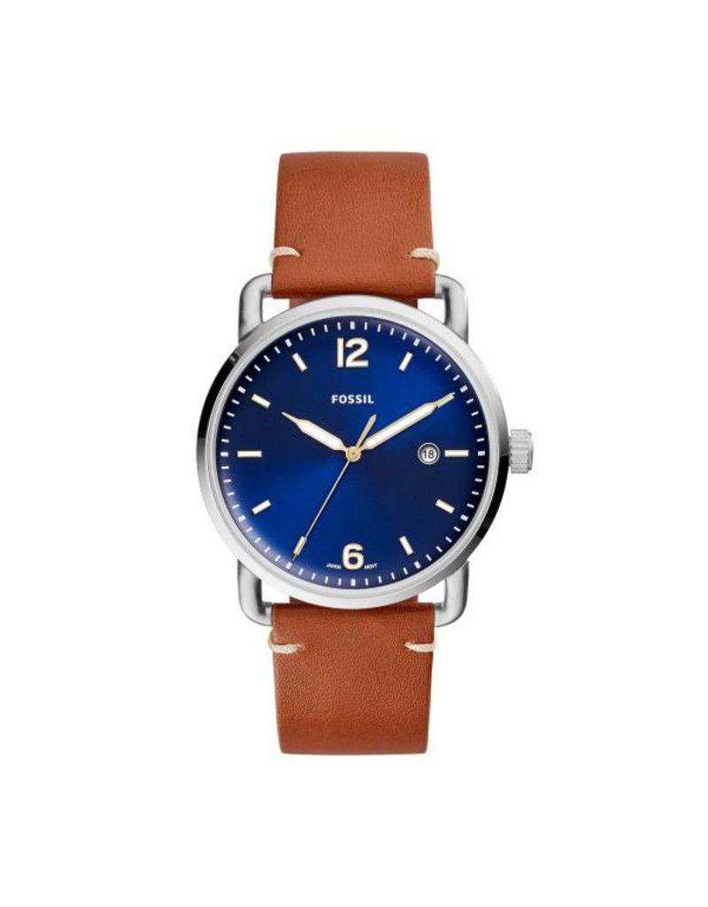 Fossil horloges Md Rd Slv Blu Stp - FS5325
