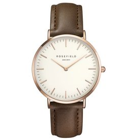 Rosefield The Bowery White Brown Rosegold - BWBRR-B3