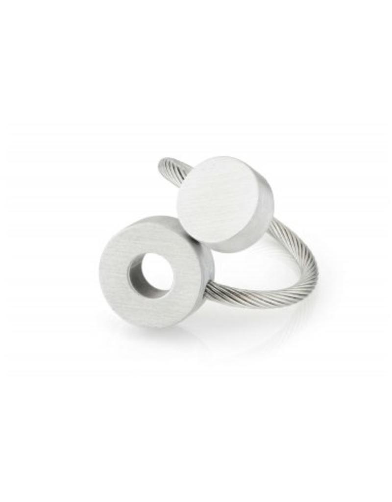 Clic Aluminium Ring Matte - R3