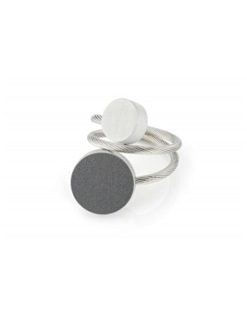 Clic Aluminium Ring Antracite/Matte - R5AG