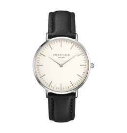 Rosefield The Tribeca White Black Silver - TWBLS-T54