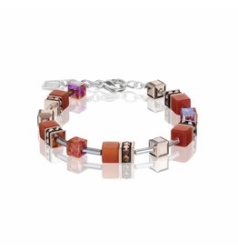 Coeur de Lion Bracelet Dark Orange - 4016/30-0221