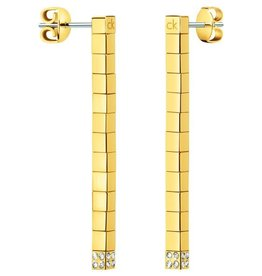 Calvin Klein sieraden Earring Tune Gold - KJ9MJE140100