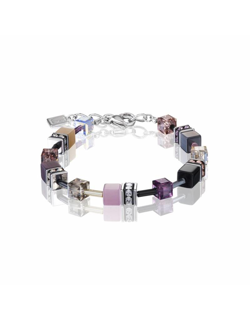 Coeur de Lion Bracelet Purple-Rose - 2838/30-0838