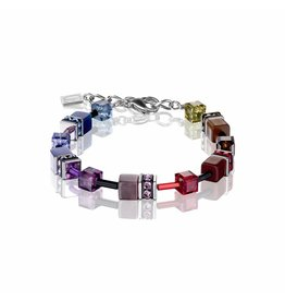 Coeur de Lion Bracet Multicolor Rainbow Dark - 2838/10-1570