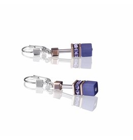 Coeur de Lion Earrings Purple - 4016/20-0800