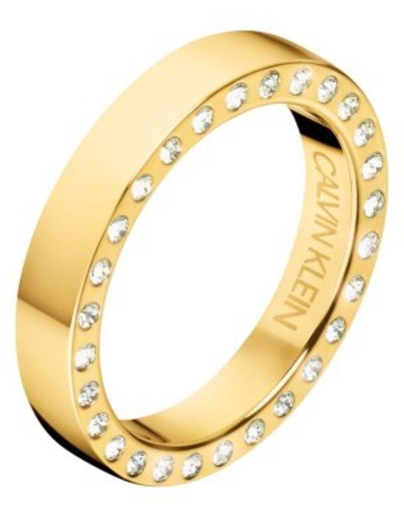 Calvin Klein sieraden Ring Hook PVD - Kj06JR140107