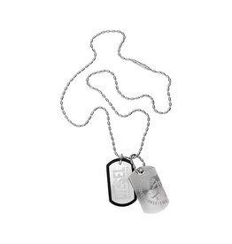 Diesel sieraden CD STEEL NECKLACE - DX0011040