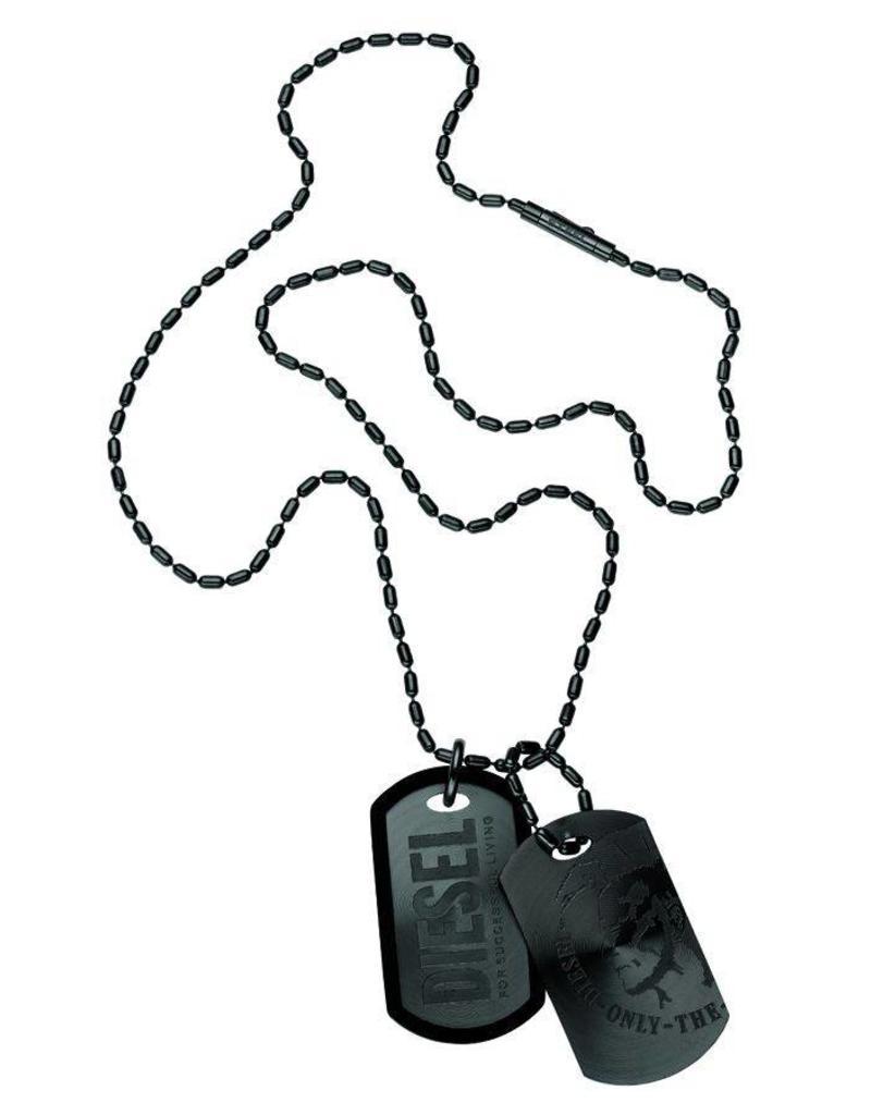 Diesel sieraden Black Necklace - dx0014040