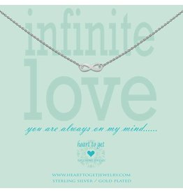 Heart to get Infinity Love Silver - n15inf11s