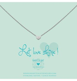 Heart to get Heart Zirkon, Let Love Shine, Silver - N194HEZ13S